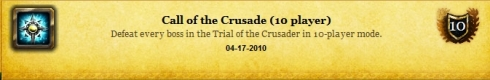 Call of the Crusade (10) - 041710
