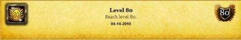 Level 80 - 041410